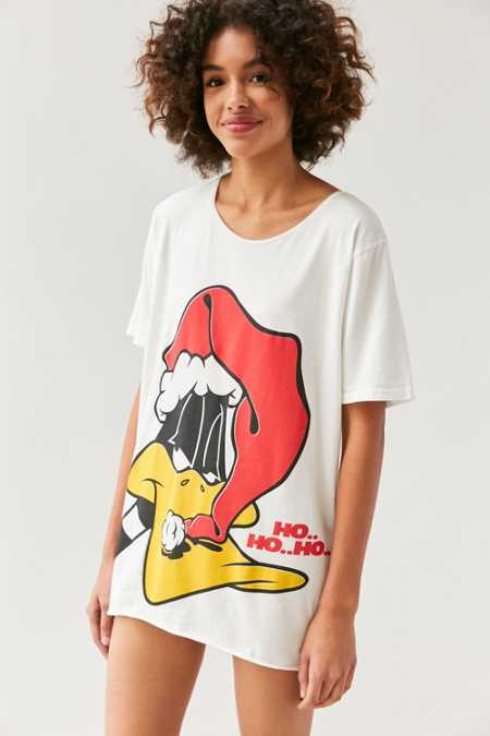 Junk Food Ho Ho Ho Daffy Duck Tee