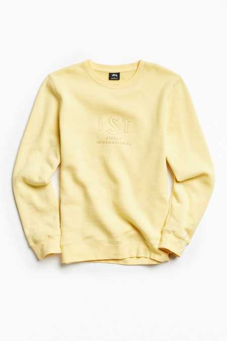 Stussy First Embroidered Crew Neck Sweatshirt