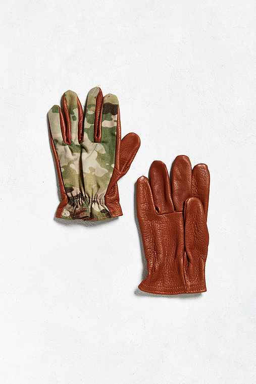 Grifter Pattern Glove,OLIVE,XL
