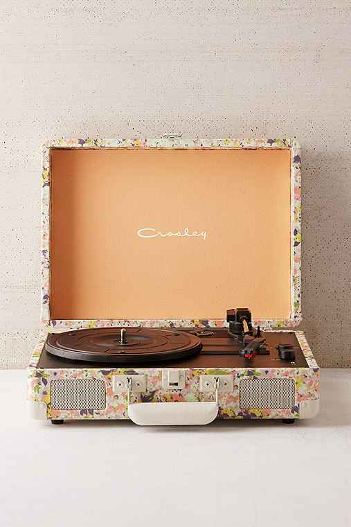 Crosley Presley Floral Bluetooth Cruiser Record Player,FLORAL,ONE SIZE