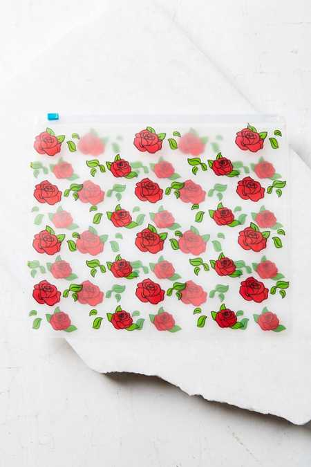UO Rose Zip Cosmetics Pouch