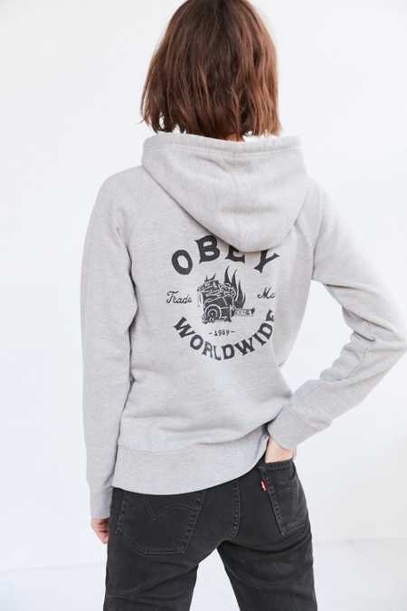 OBEY Fresh Off The Press Hoodie Sweatshirt