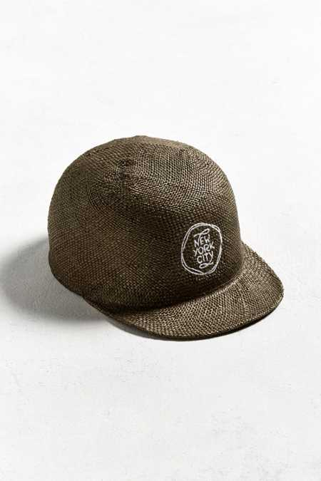 Sublime Straw NYC Baseball Hat