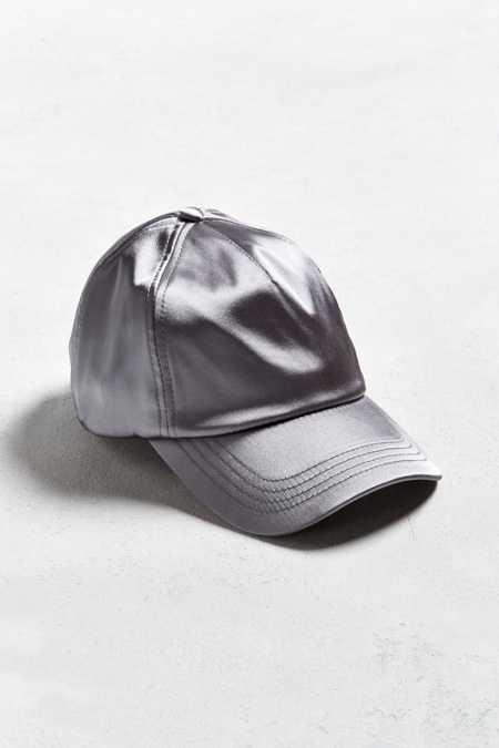 UO Satin Baseball Hat