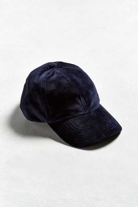 UO Velour Baseball Hat