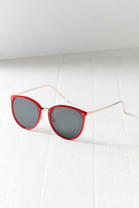 Sheila Slim Cat-Eye Sunglasses
