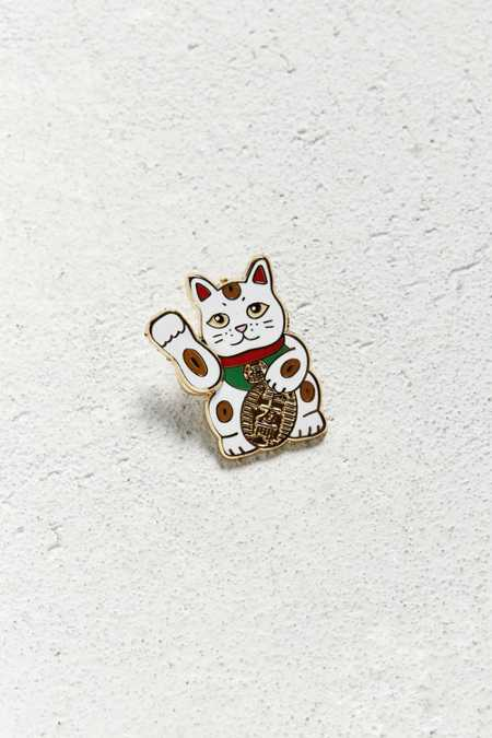 Pintrill Lucky Cat Pin