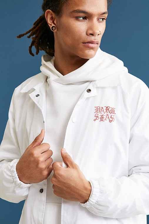 Dark Seas Coach Jacket,WHITE,S