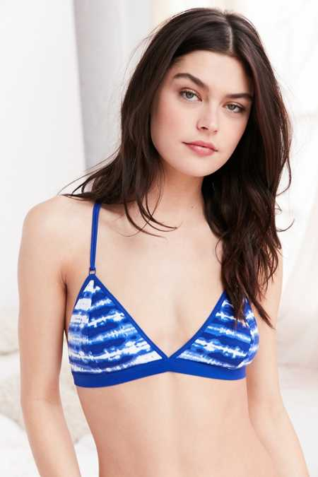 Out From Under Jojo Tie-Dye Triangle Bra