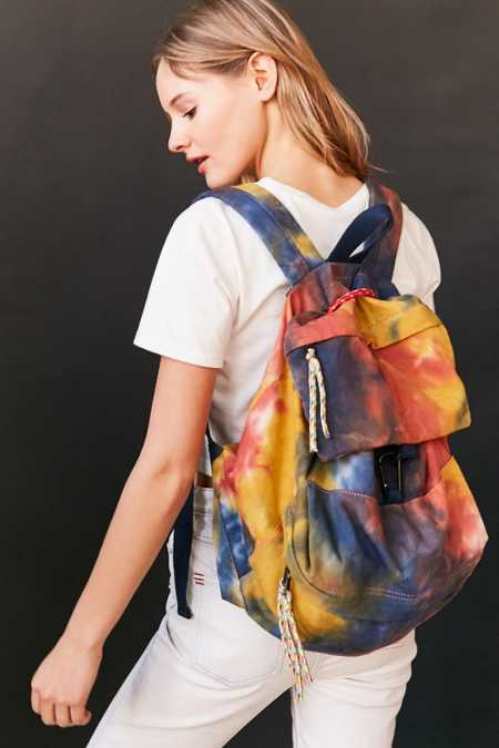 Tie-Dye Bungee Cord Backpack