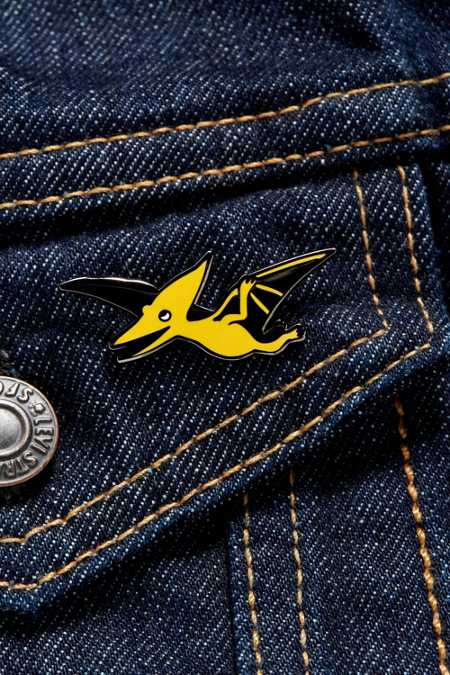 Valley Cruise Press X Kyle Pellet Pterodactyl Pin