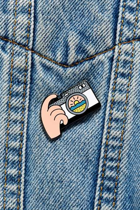 Valley Cruise Press X Luke Day Sunset Camera Pin