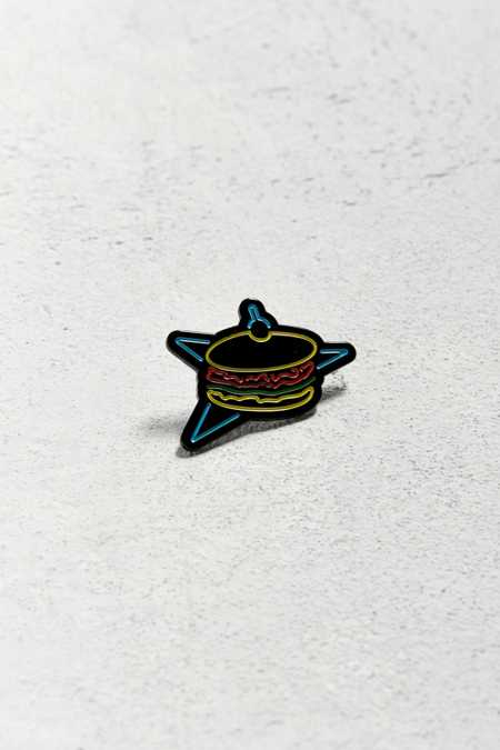 Lost Lust Neon Burger Pin
