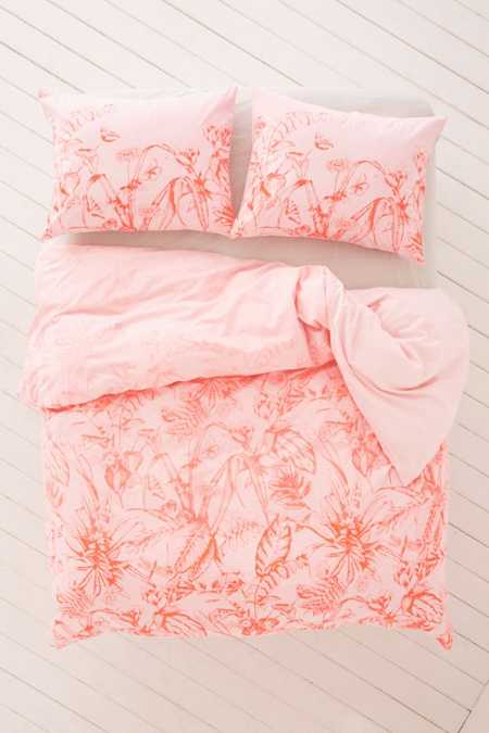 Forest Toile Duvet Cover