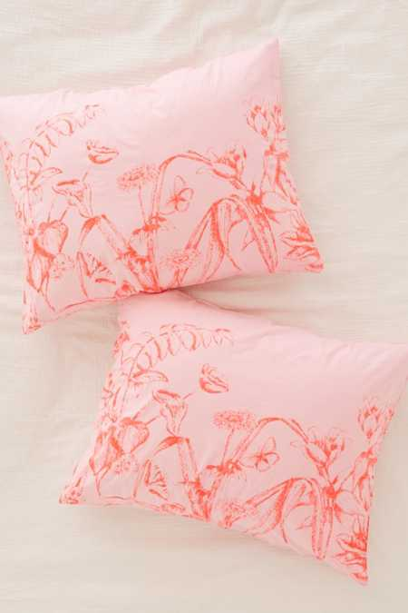 Forest Toile Sham Set