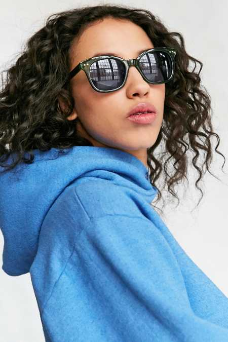 Eva Slim Square Sunglasses