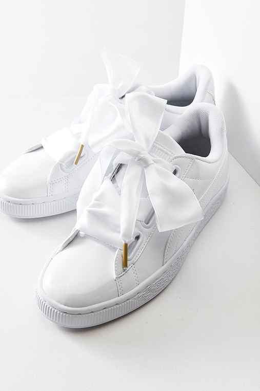 puma basket heart patent leather sneaker urban outfitters. Black Bedroom Furniture Sets. Home Design Ideas