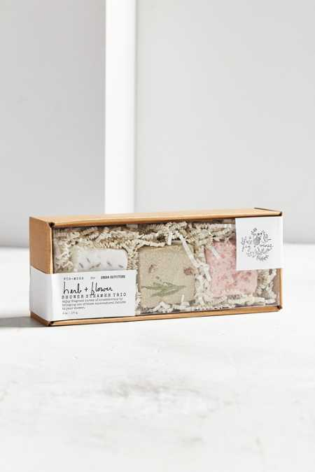 Fig + Moss For UO Herb + Flower Shower Steamer Trio