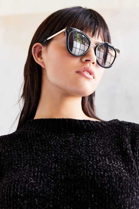Backstage Cat-Eye Sunglasses