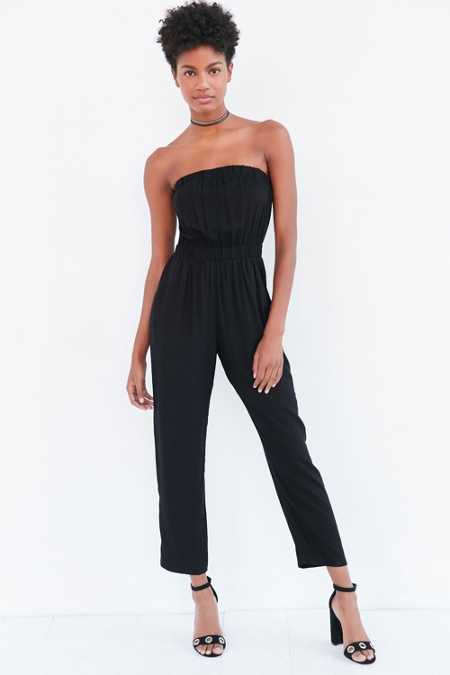 Silence + Noise Strapless Jumpsuit