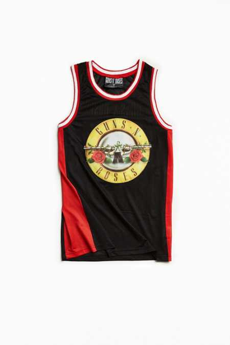 Guns N' Roses Basketball Jersey