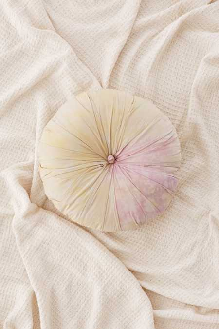 Caily Round Tie-Dye Pillow