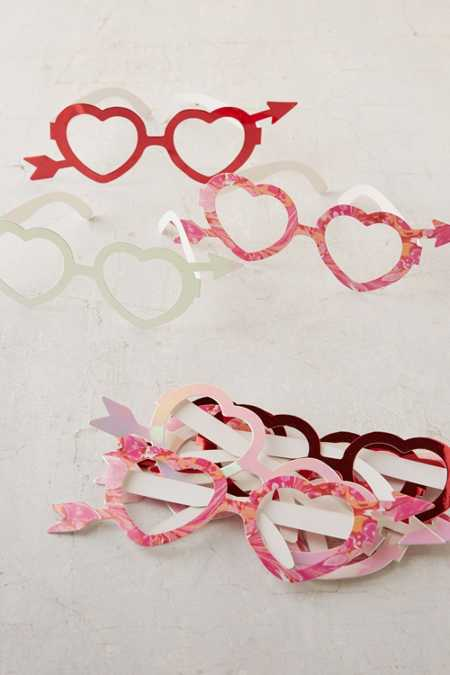 Heart Glasses Set