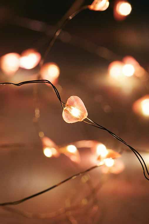 Heart String Lights,MULTI,ONE SIZE