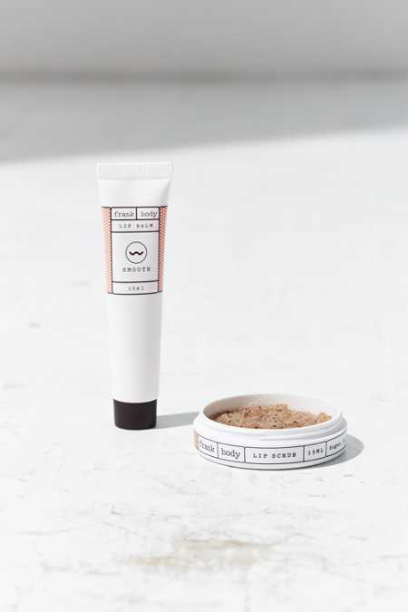 Frank Body Lip Scrub + Lip Balm Duo
