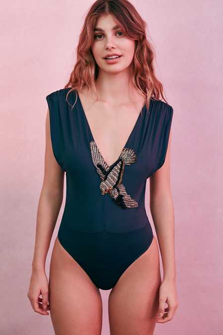 Out From Under Bird Of Paradise Bodysuit