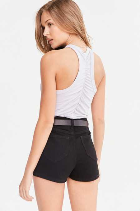 Truly Madly Deeply Ruched-Back Tank Top