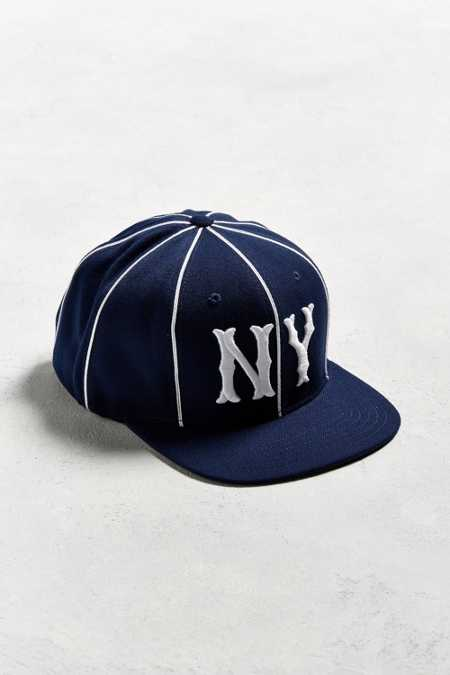 American Needle Big Show NY Yankees Striped Baseball Hat