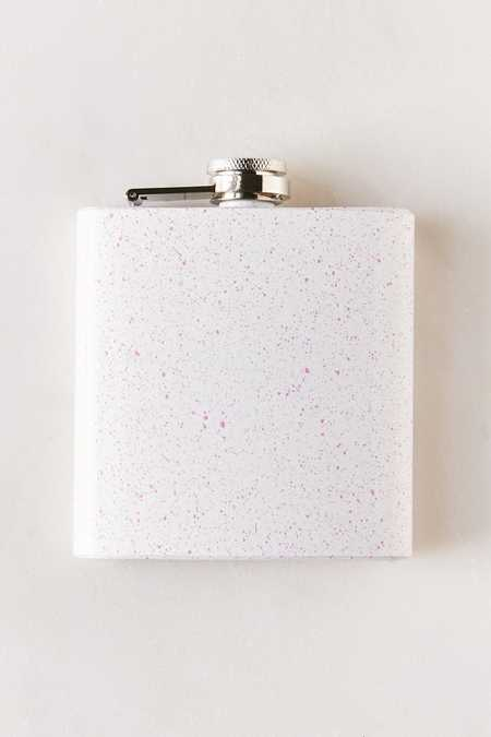 6-Oz Speckled Flask