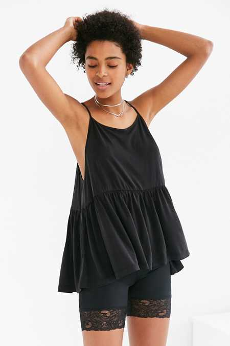 Silence + Noise Babydoll Tunic Tank Top