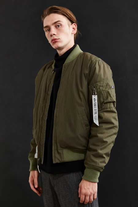 X-Large X Alpha Industries Reversible MA-1 Bomber Jacket