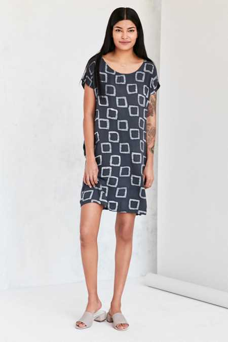 Della Dye-Pattern Sheath Dress