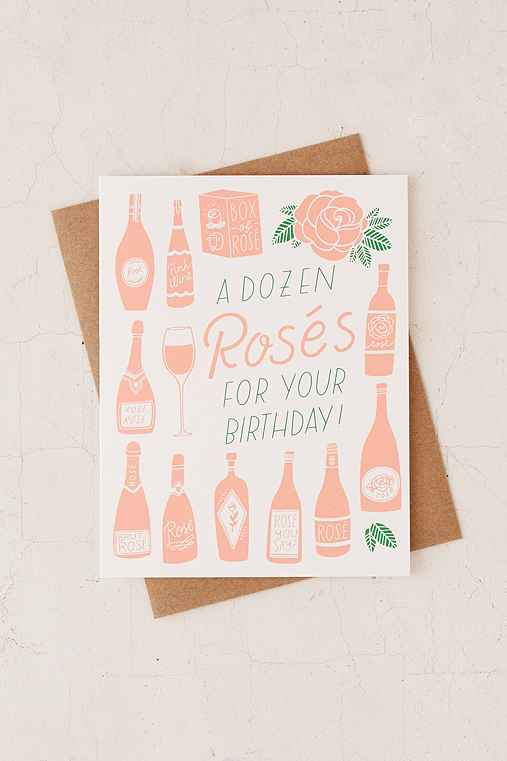 The Good Twin Co. A Dozen Roses Birthday Card,WHITE,ONE SIZE