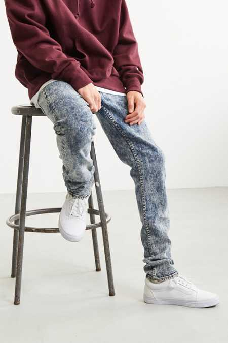 GUESS 1981 Acid Wash Skinny Jean