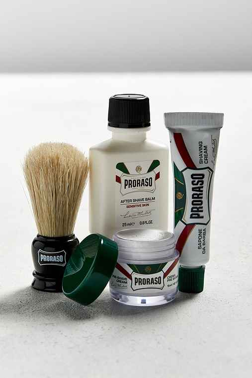 Proraso Travel Shave Kit,ASSORTED,ONE SIZE