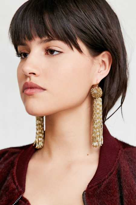 Vanessa Mooney Antoinette Tassel Earring