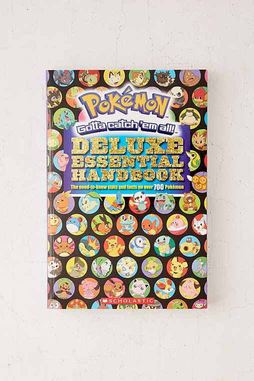 Pokemon Deluxe Essential Handbook: The Need-To-Know Stats And Facts On Over 700 Pokemon By Scholastic,ASSORTED,ONE SIZE