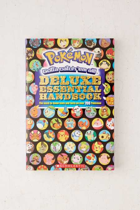 Pokemon Deluxe Essential Handbook: The Need-To-Know Stats And Facts On Over 700 Pokemon By Scholastic