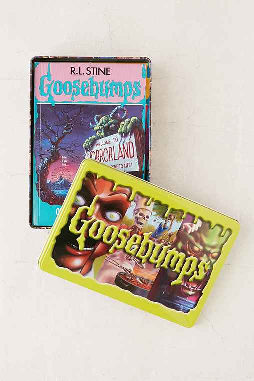 Goosebumps Retro Scream Collection: Limited Edition Tin By R.L. Stine,ASSORTED,ONE SIZE