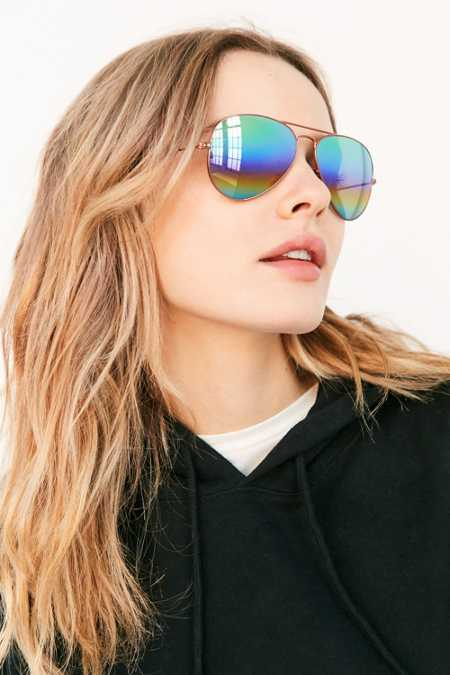 Ray-Ban Mineral Lens Aviator Sunglasses
