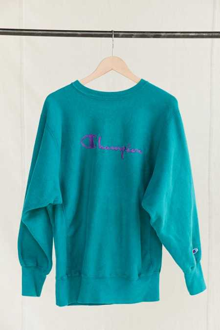 Vintage Champion Green Sweatshirt