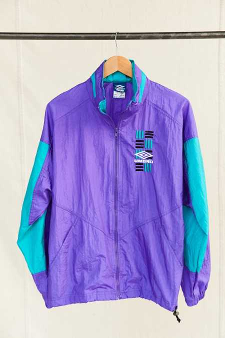 Vintage Umbro Purple Windbreaker Jacket