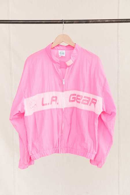 Vintage L.A. Gear Pink Windbreaker Jacket