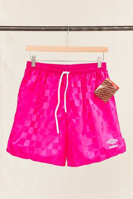 Vintage Umbro Pink Check Short