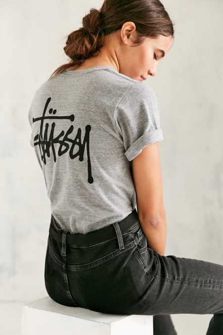 Stussy Basic Stock Heather Tee