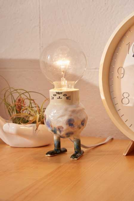 Clay And Wish One-Of-A-Kind Illustrated Table Lamp